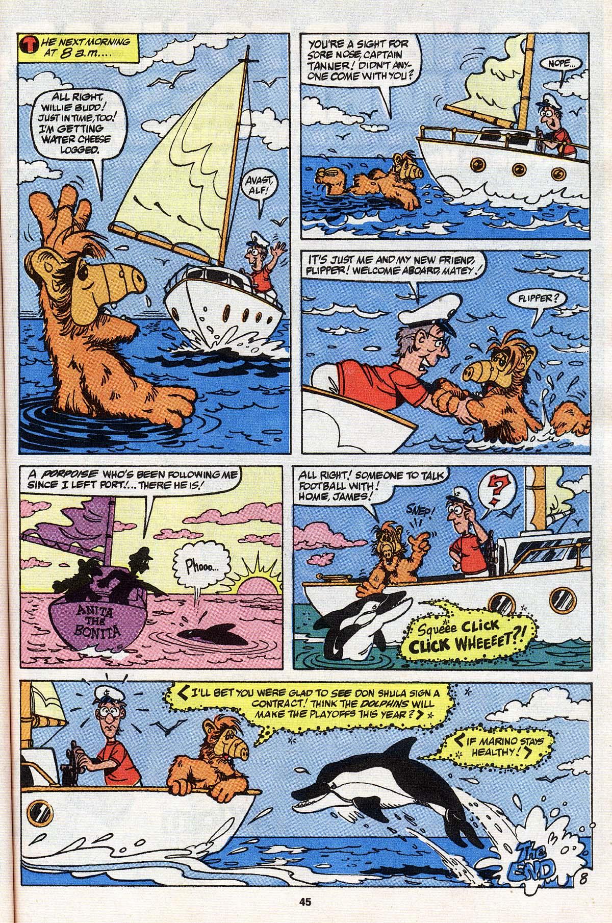 Read online ALF comic -  Issue # _Annual 3 - 41