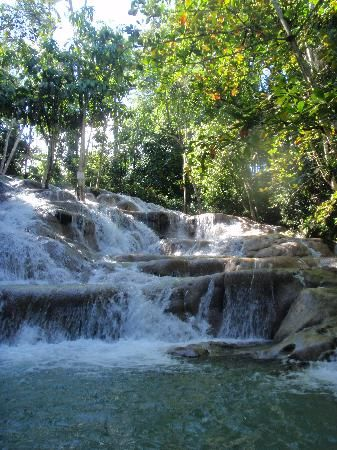 Jamaica, Travel, Dunn's River Falls