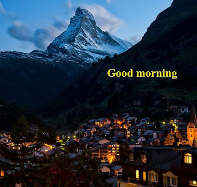 beautiful good morning images for lover - matterhorn mountains switzerland