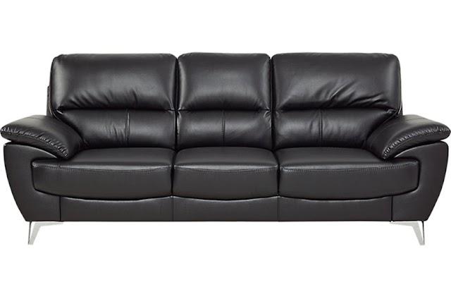 Cantiknya Sofa Kulit Minimalis Modern