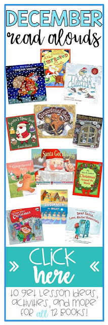 Here are some of the best-loved December books!  Find lesson ideas, activities, free book companions for all 12 books!