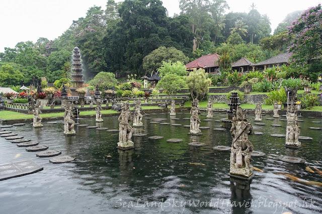 峇里, bali, tirta gangga temple
