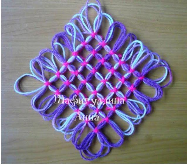 MANUALIDADESDIYTapetes hechos de lana