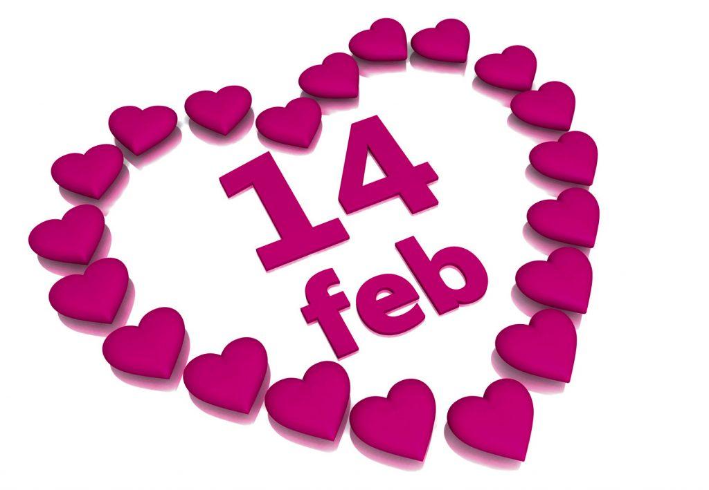 Alla hjärtans dag inte officiellt dating
