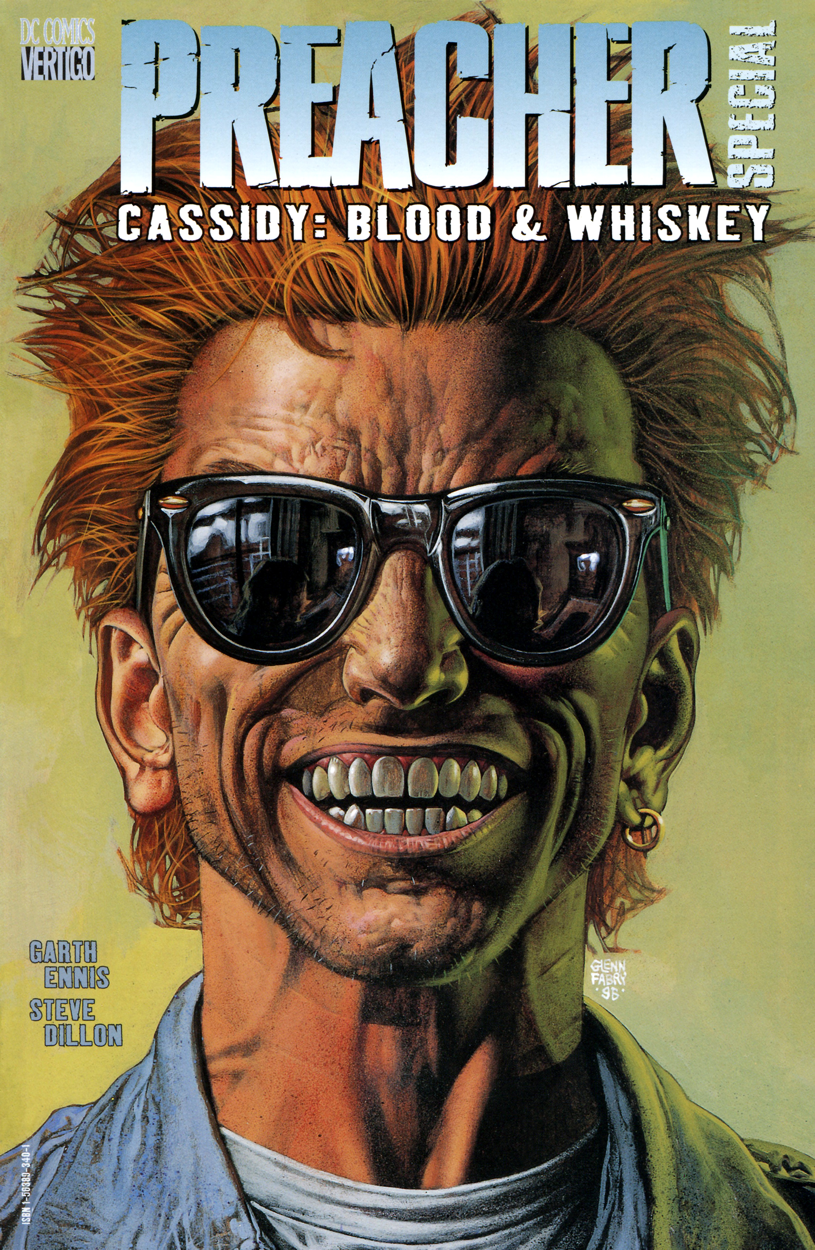 Read online Preacher Special: Cassidy : Blood and Whiskey comic -  Issue # Full - 1