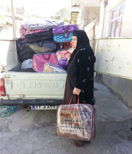 مادر فرزاد کمانگر