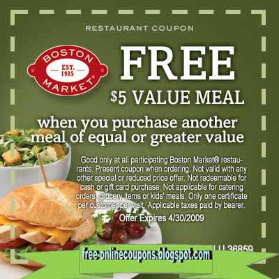 Save up to 50% with these current Boston Market coupons for December The latest sepfeyms.ga coupon codes at CouponFollow.