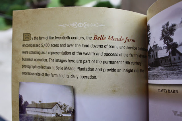 Photo of phamplet from Belle Meade Plantation | Belle Meade Plantation | rosevinecottagegirls.com
