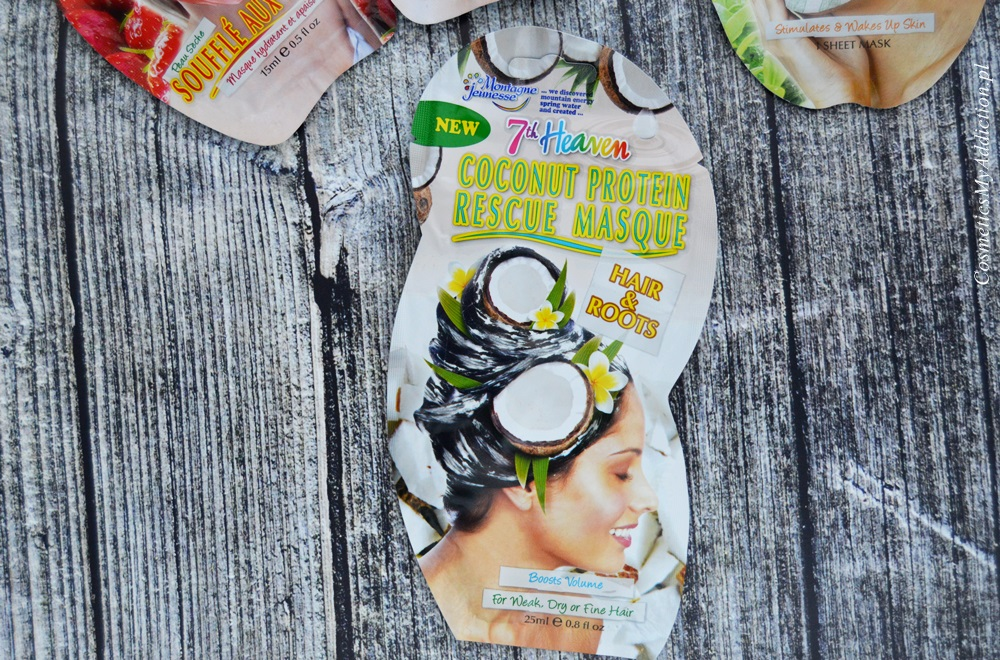 Kokosowa maska regenerująca do włosów (7th Heaven Coconut Protein Rescue Masque)
