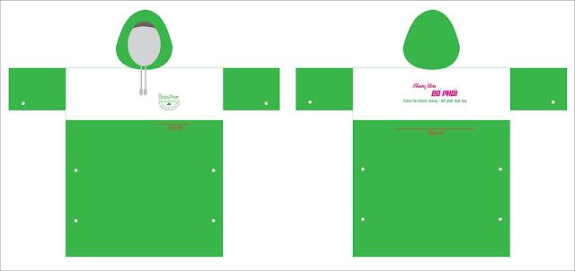 Sản xuất áo mưa quà tặng giá rẻ tại TP.HCM