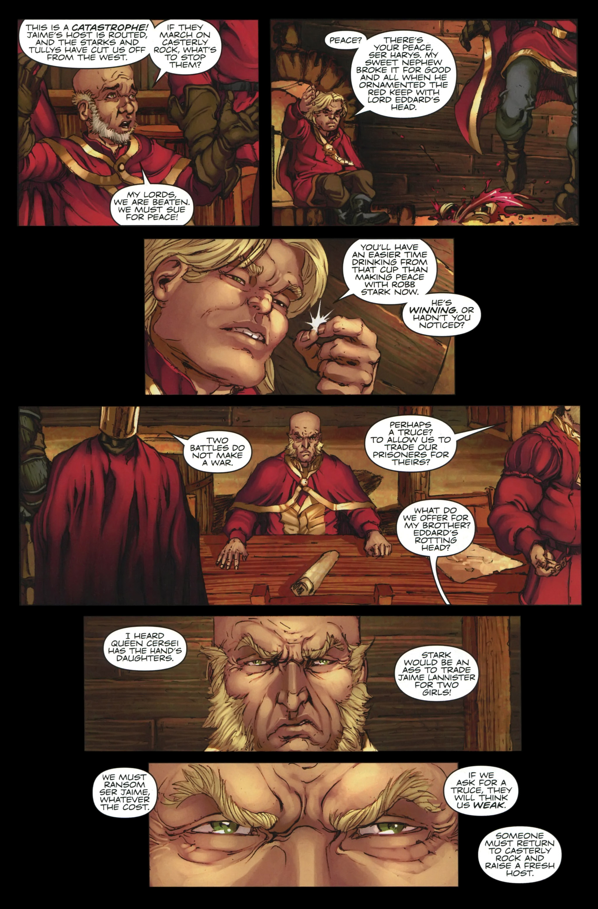 Read online A Game Of Thrones comic -  Issue #23 - 16