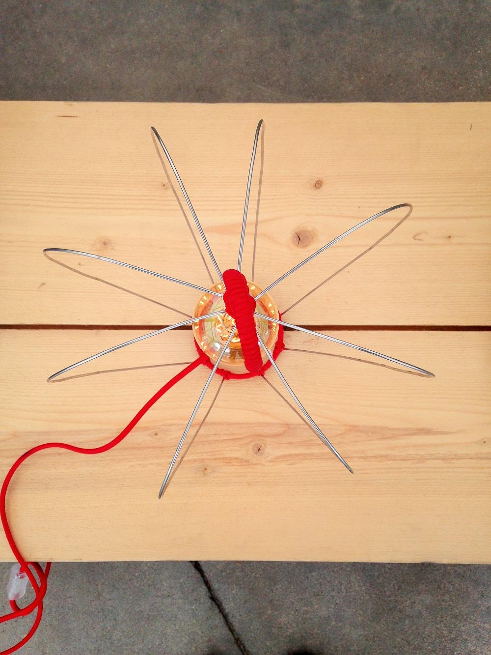 Connu PcMcréation: Lampe POM & coussins lin POM / Faire de sa vie MQ33