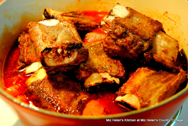 Apple Braised Beef Short Ribs at Miz Helen's Country Cottage