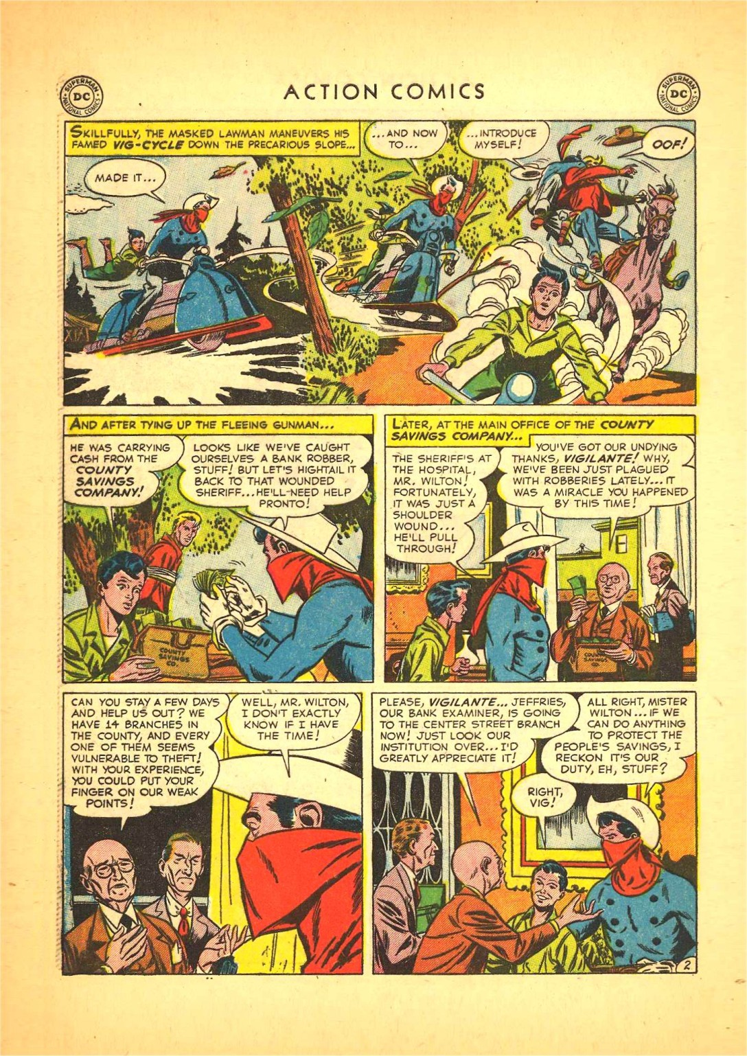 Read online Action Comics (1938) comic -  Issue #166 - 33