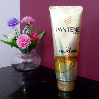 New Pantene Pro-V Oil Replacement has the nourishing power of oils that comes in a creamy form. Replace the good old oiling method with this new hassle-free non sticky cream formula.