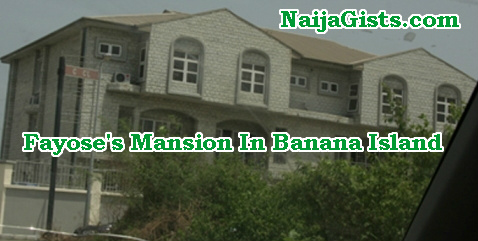 fayose mansion banana island lagos