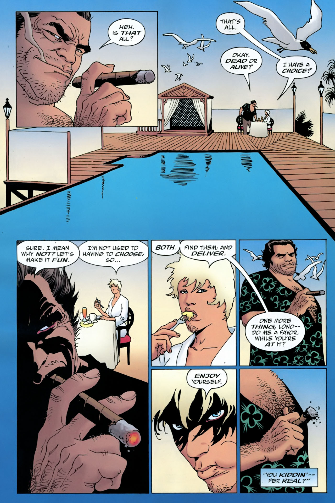 Read online 100 Bullets comic -  Issue #90 - 14