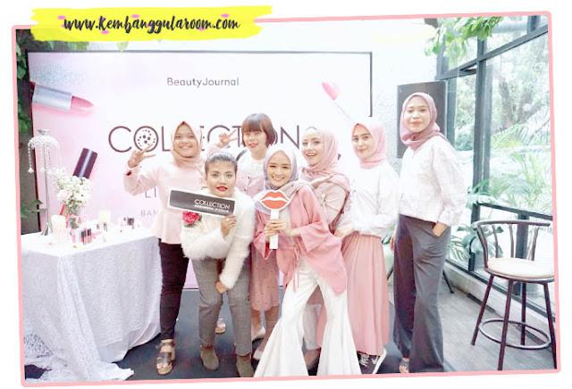 grand launching collection cosmetics di bandung