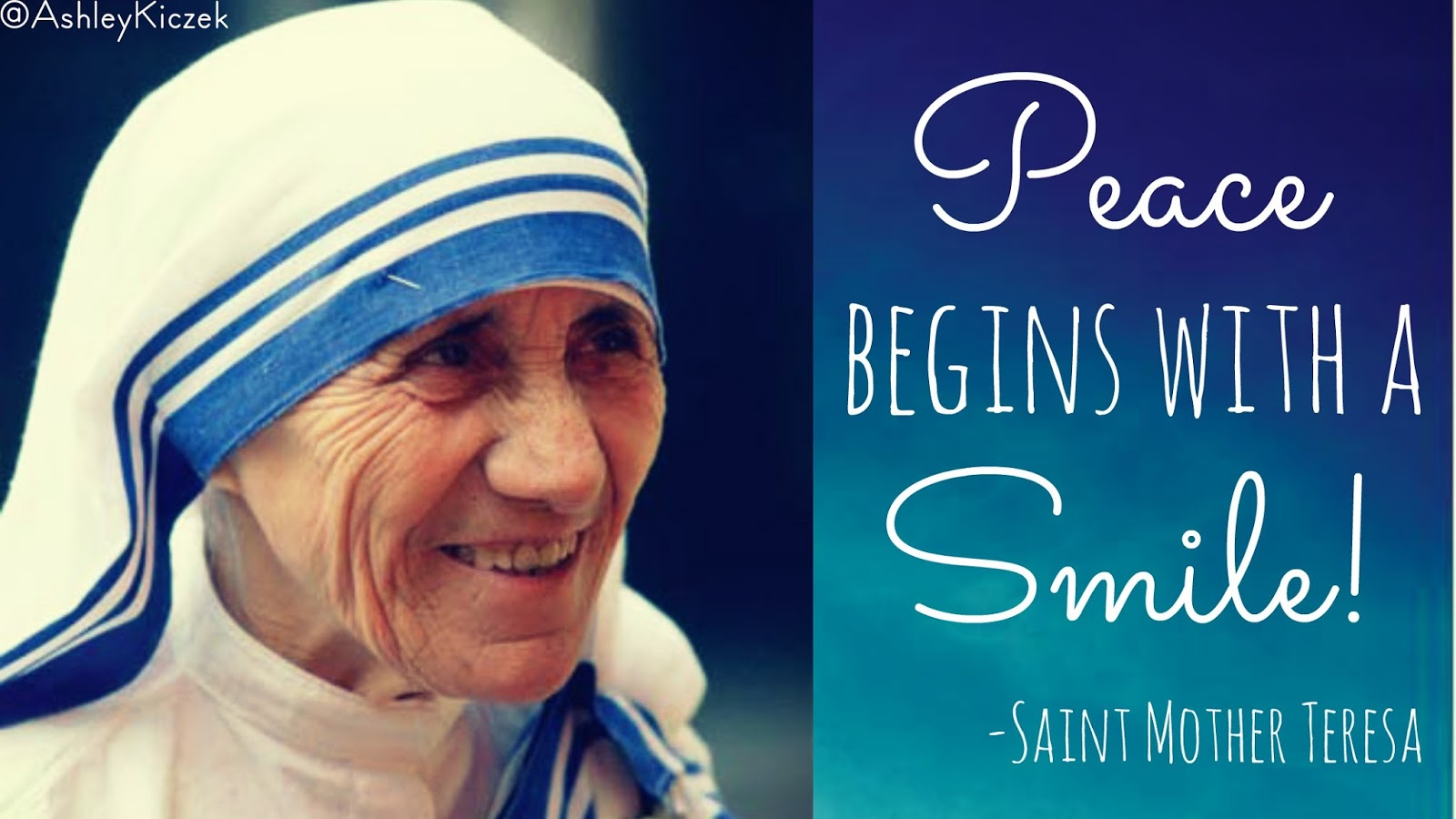 Make a Mother Teresa Costume