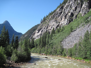 The Animas River crossing