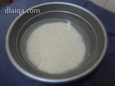 rendam beras ketan