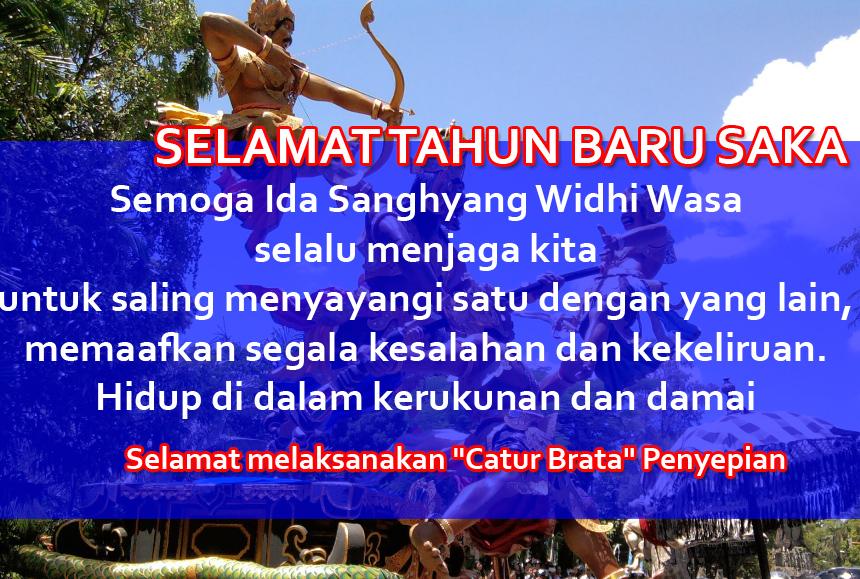 Gambar Kata-kata Selamat Nyepi Basa Bali