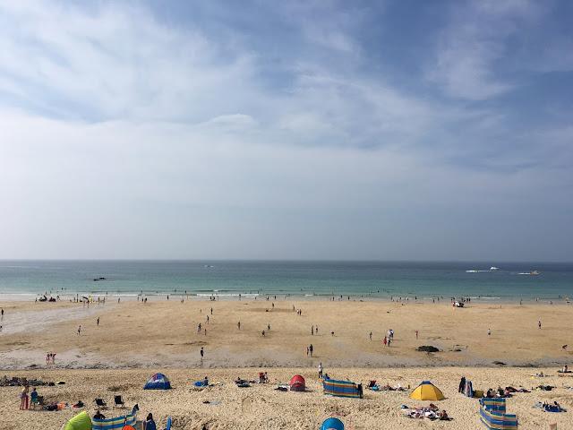 Porthmeor Beach, St Ives Cornwall