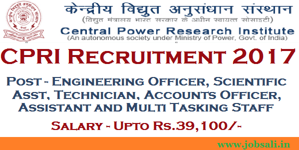 CPRI Careers. CPRI Bangalore Recruitment, cpri exam syllabus