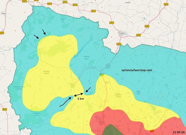 Siria: dos ciudades