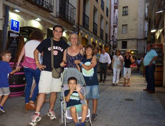 Calle del Laurel, Logroño.