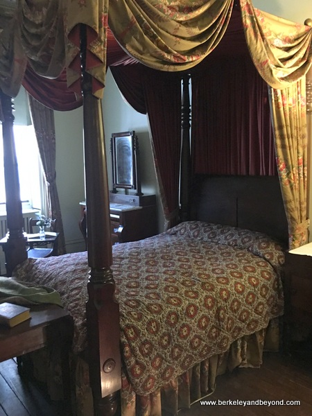 bedroom at Merchant's House Museum in NYC