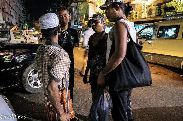 The Punks of Yangon offer food to homeless and low income people