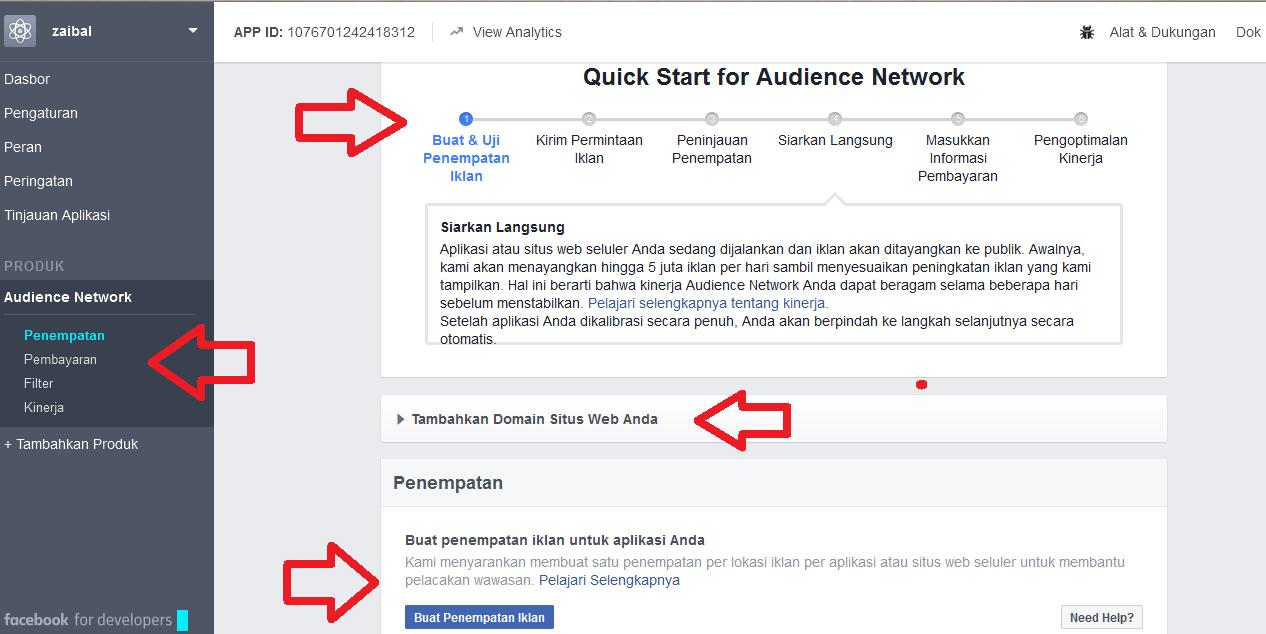 menjadi publisher facebook ads audience