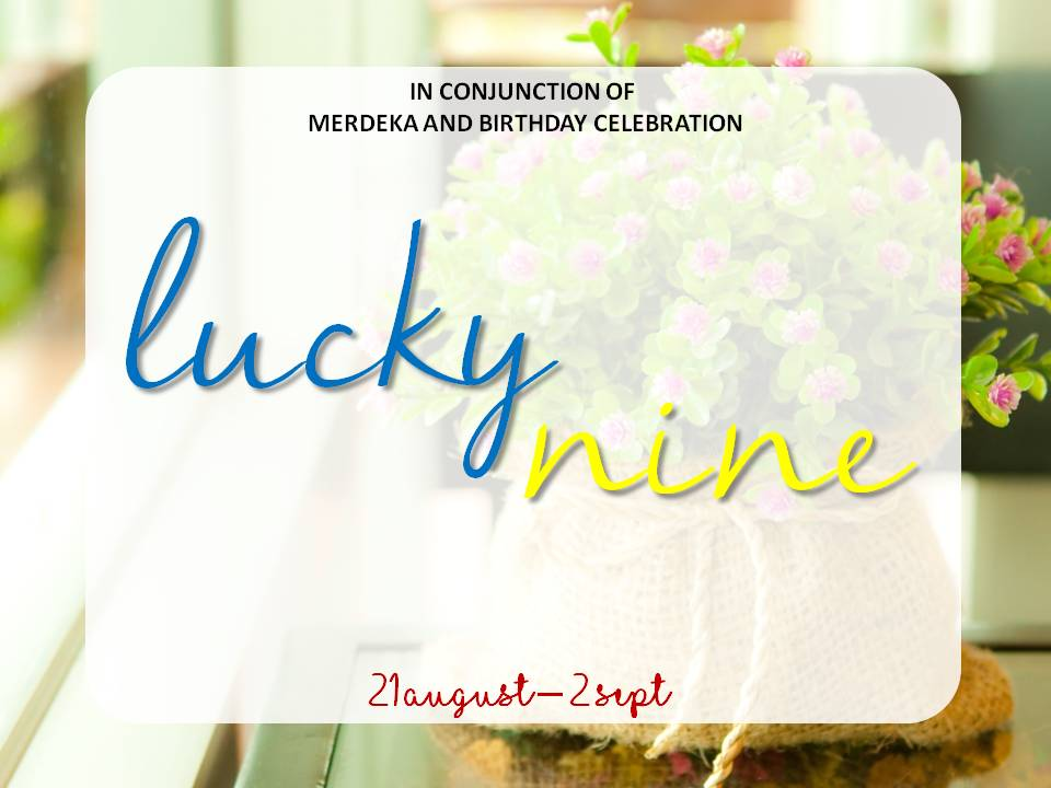 Mini Giveaway Lucky Nine