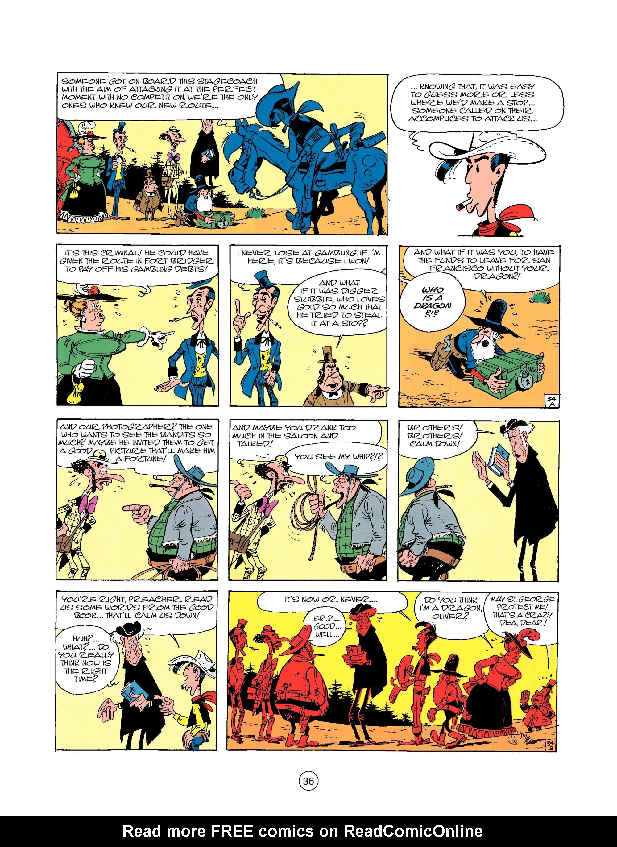 Read online A Lucky Luke Adventure comic -  Issue #25 - 36