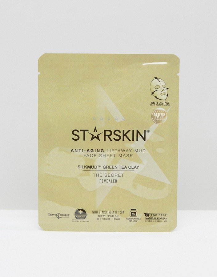 Starskin Silkmud Green Tea sheet face mask