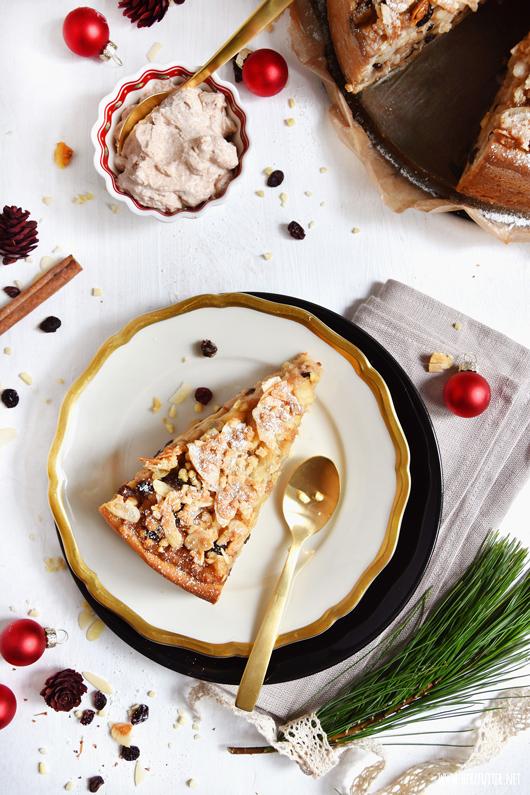 Saftiger Bratapfelkuchen mit knusprigen Quark-Öl-Teig