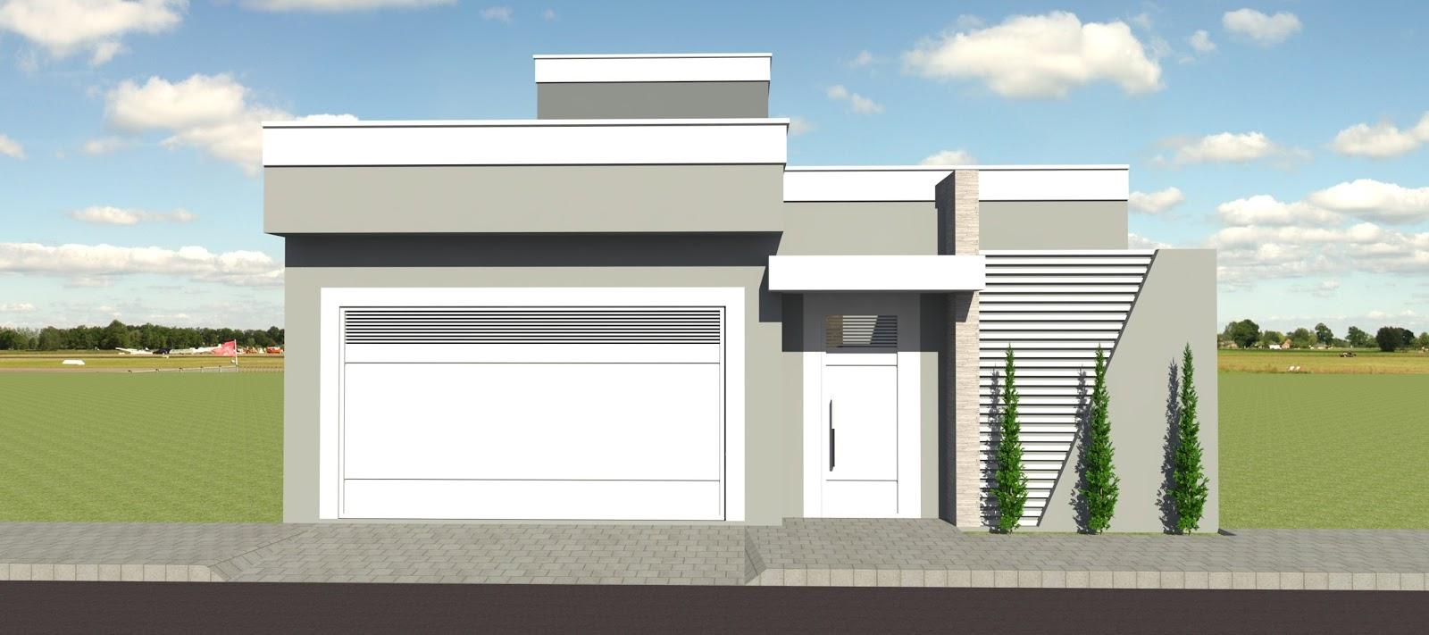 Projeto casa moderna for Casa moderna 8