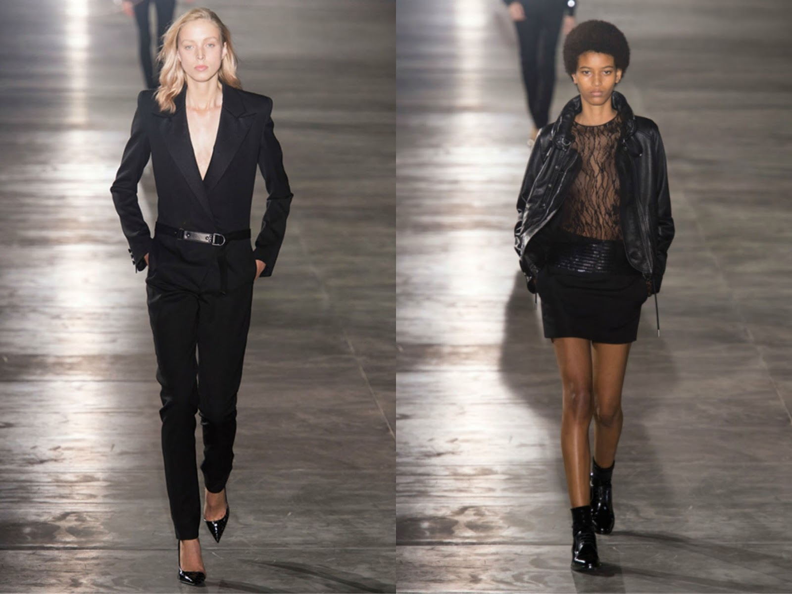 Eniwhere Fashion - Saint Laurent - PFW