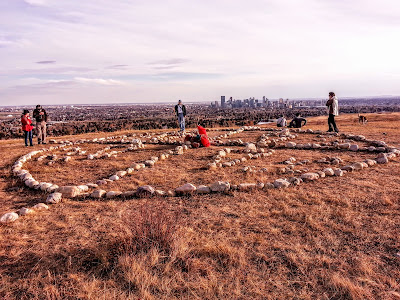 Nose Hill Park Medicine Wheel