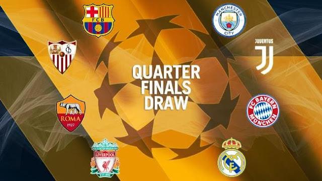 تعرف على مواعيد مباريات دور الـ8 من بطولة دوري أبطال أوروبا