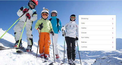 seleccion especial ropa de esquiar