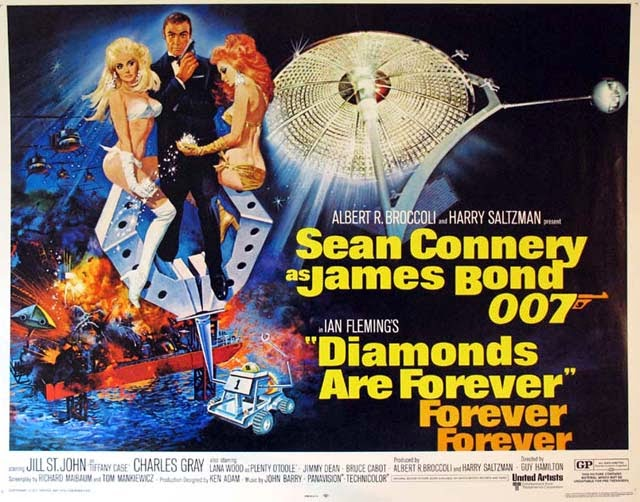 BOND: 10 Things You Might Not Know About DIAMONDS ARE FOREVER - Warped Factor - Words in the Key of Geek.