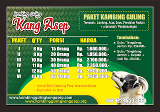harga kambing guling di lembang bandung