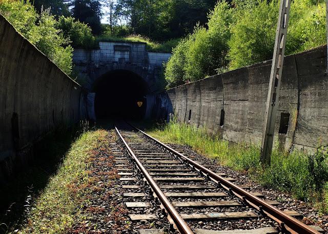 Tunel kolejowy w Łupkowie - strona polska