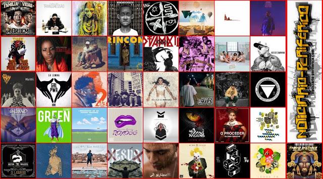 41 melhores álbuns/ep's/mixtapes de 2017, segundo o Noticiário Periférico