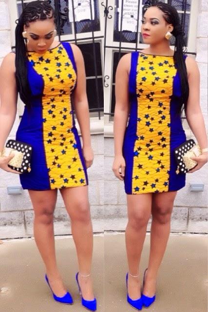 African Dresses Ankara Short Gown Dezango Fashion Zone
