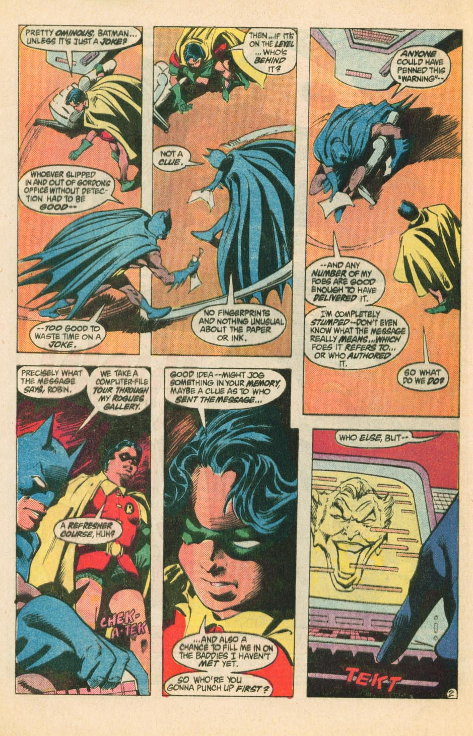 Detective Comics (1937) 566 Page 2