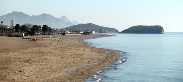 Playa. Mazarrón. Murcia