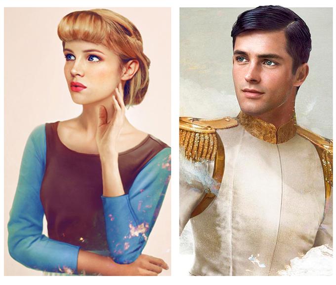 real life disney character Cinderella персонажи Дисней в реальной жизни Золушка